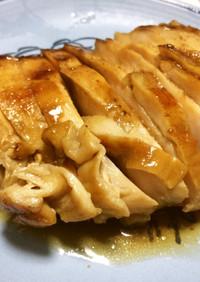 簡単…弱火で柔らか!鶏ムネ肉の叉焼鶏