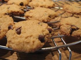 バター&卵なしのチョコチップクッキー