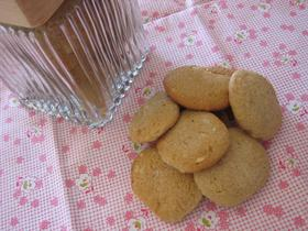サクッ♪シナモン風味のピーナッツクッキー