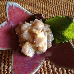 秋刀魚の味噌和え