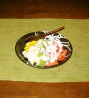 フルーツ野菜サラダドレッシングの写真