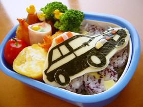 パトカー☆弁当 (キャラ弁)