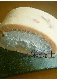 ★簡単絶品本格的♪桜ロールケーキ