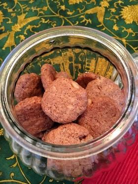 レンジでサクサク、シナモンクッキー!