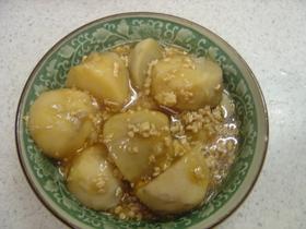 里芋のそぼろ煮