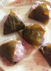 ひな祭り⁂ブルーベリー桜餅