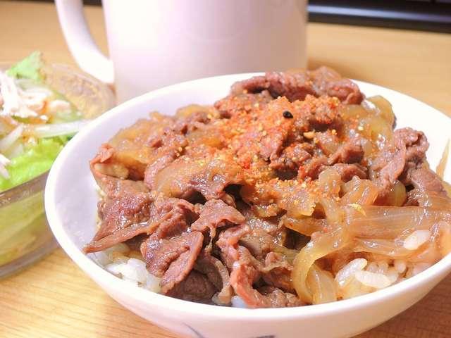 牛 丼 レシピ すき焼き の たれ