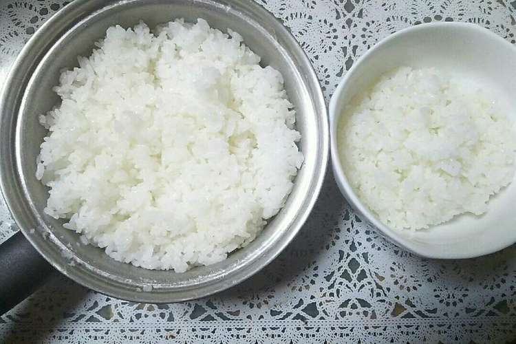 炊き 方 洗米 無