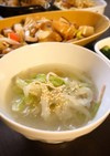 簡単!芯が美味しい!白菜の中華スープ