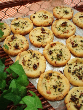 パルメザンチーズたっぷり♪ピザクッキー