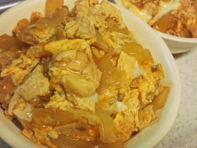 フライパンで簡単♥半熟トロトロ親子丼