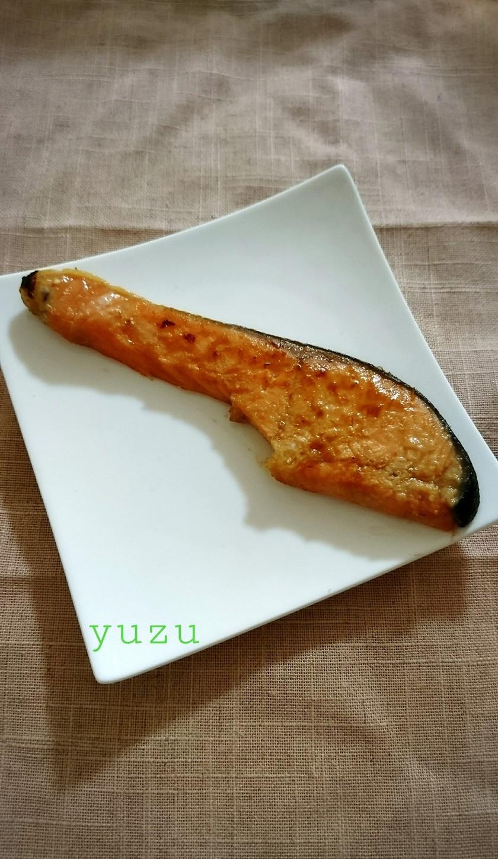 甘さ控えめ!簡単!鮭の味噌焼き*西京焼き