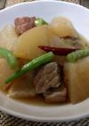 簡単 真面目 男の 大根と豚肉の煮物