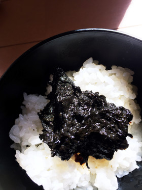 レンジで海苔とヒジキの佃煮