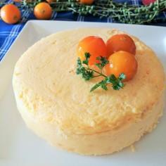 きんかんのベイクドチーズケーキ