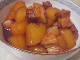 大根とバラ肉のべっこう煮