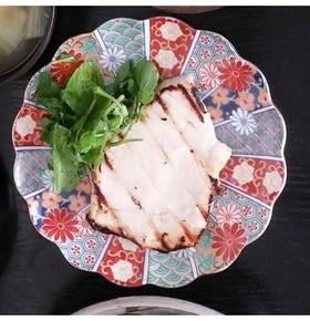 かじきの塩麹焼き