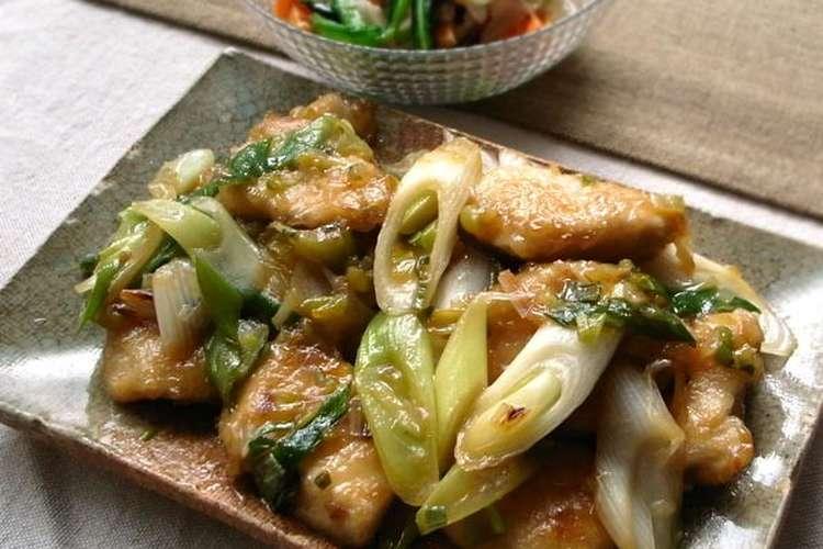 レシピ ネギ 胸 鶏 肉 片栗粉ふって茹でて氷水にとるだけ!鶏むね肉がプルプルに化ける「水晶鶏」の作り方と簡単レシピ3選