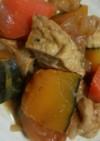 今日の煮物~がんもとかぼちゃの煮物~