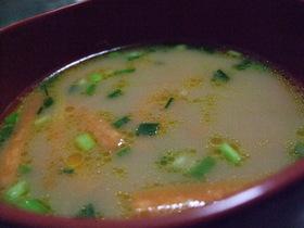 体温まる味噌スープ♪