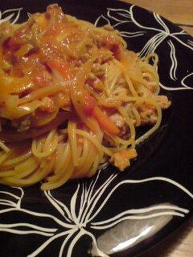 クリーミートマトスパゲティー