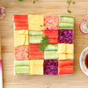 ひな祭りにお手軽モザイク寿司