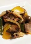 砂肝&鶏レバーのマリネ風炒め煮(冷凍可)