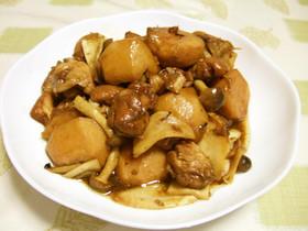 鶏もも肉と里芋のバルサミコ煮♪