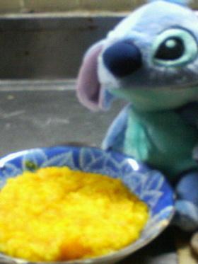 ダイエットの味方☆かぼちゃ粥