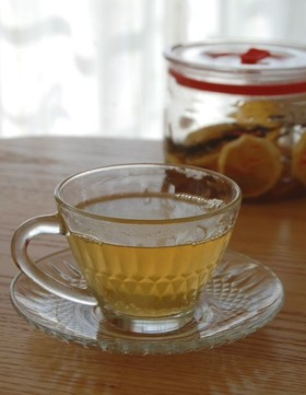 ローズマリー風味のレモネード