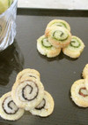 プチくるりんクッキー♡抹茶、ココア、桜