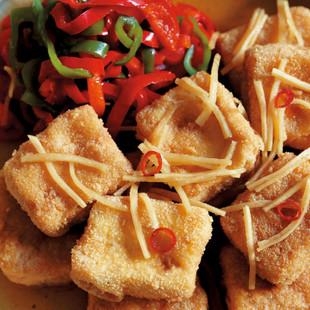 豆腐の南蛮漬け