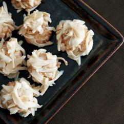 豆腐と白まいたけのシュウマイ風