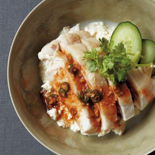 豆腐の小どんぶり カオマンガイ丼