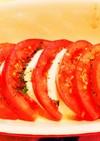 モッツァレラとトマトの焼きカプレーゼ