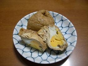 卵と牛蒡で茶巾煮♪