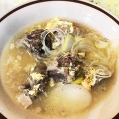韓国のお正月 トックのスープ