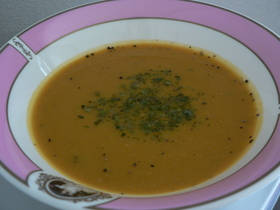 野菜かぼちゃスープ