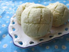 夏の名残り 氷シロップでメロンパン