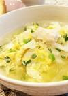 かぶと生姜の中華風スープ