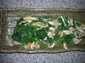 小松菜+揚げ=美味しい