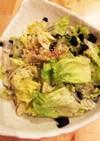 焼肉屋のレタスサラダ