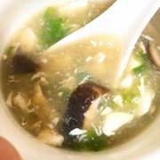 ぽかぽか♡レタスと卵のスープ♡の写真