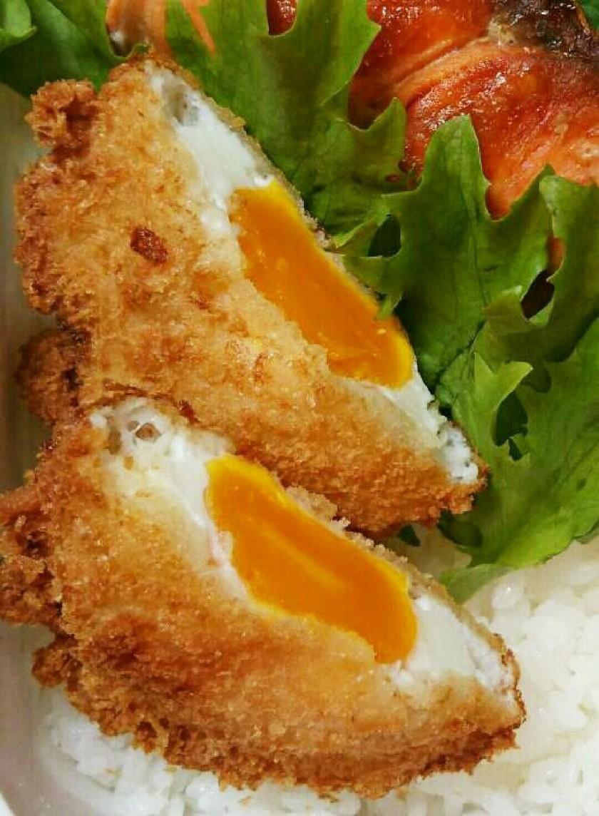お弁当のおかず~冷凍卵のフライ~