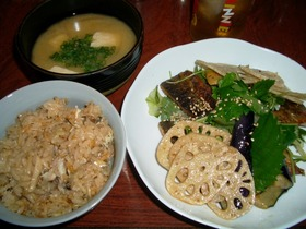 秋刀魚deサラダ