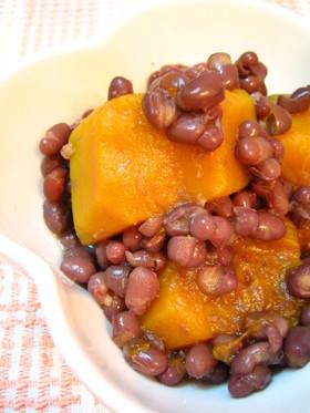 かぼちゃと小豆の煮物♪いとこ煮
