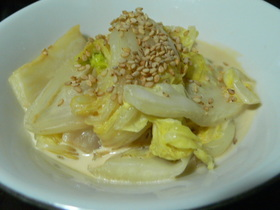 マヨつゆ白菜