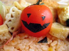 お化けトマト(ハロウィン)