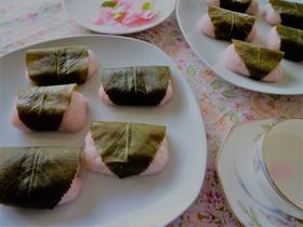 【桜餅】レンジでチン!簡単に!