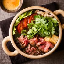 オニオンすき焼きパクチー鍋